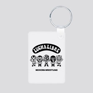 mexican wrestling lucha libre3 Keychains