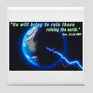 Earth-Bring to Ruin Tile Coaster