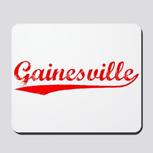 Vintage Gainesville (Red) Mousepad