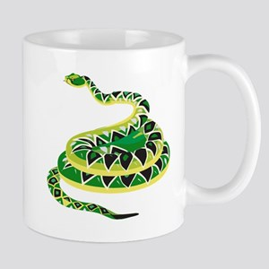 Green Snake Mug