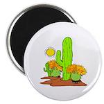 "Desert Cactus 2.25"" Magnet (100 pack)"