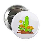 """Desert Cactus 2.25"""" Button"""