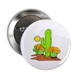"Desert Cactus 2.25"" Button (10 pack)"