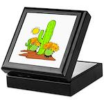 Desert Cactus Keepsake Box
