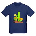 Desert Cactus Kids Dark T-Shirt