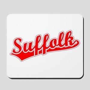 Retro Suffolk (Red) Mousepad