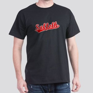 Retro Suffolk (Red) Dark T-Shirt
