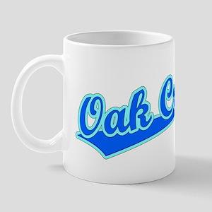 Retro Oak Creek (Blue) Mug