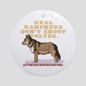 Real Ranchers Ornament (Round)