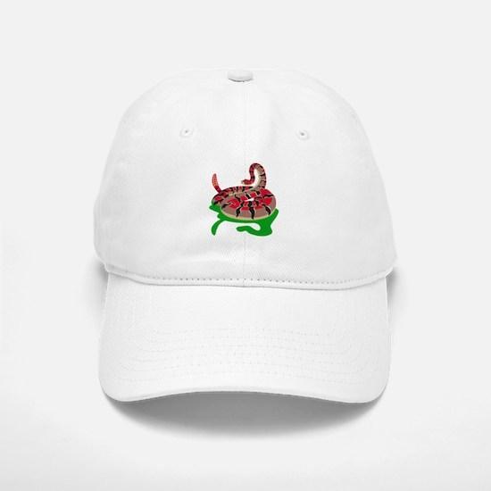 Angry Snake Baseball Baseball Cap