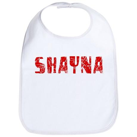 Shayna Faded (Red) Bib