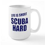 Scuba Hard Large Mug