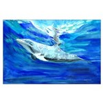 Dolphin Large Poster