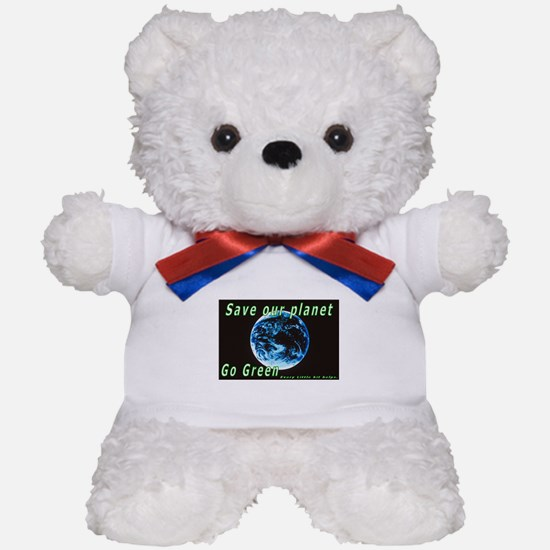 Save our Planet-Go Green Teddy Bear