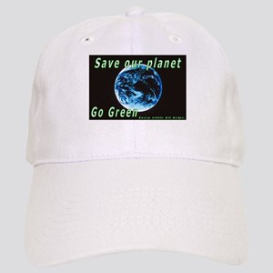 Save our Planet-Go Green Cap