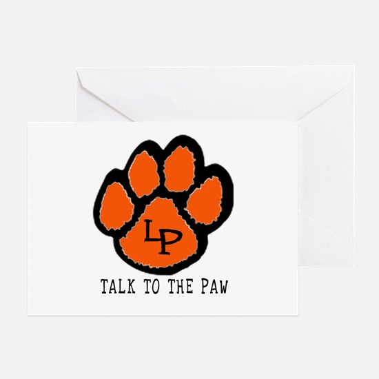 Talk to the Paw Greeting Card