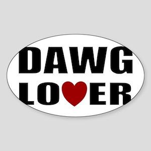 Bulldog lover Sticker