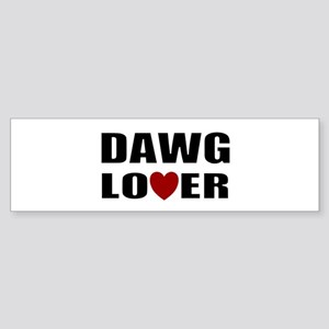 Bulldog lover Bumper Sticker