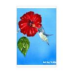Hummingbird Mini Poster Print
