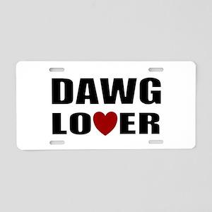 Bulldog lover Aluminum License Plate