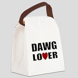 Bulldog lover Canvas Lunch Bag
