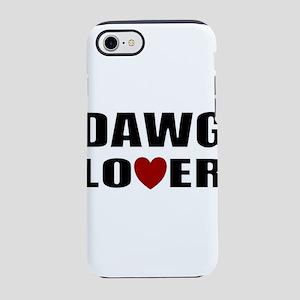 Bulldog lover iPhone 8/7 Tough Case