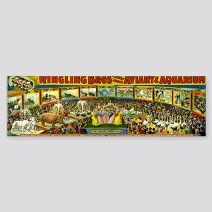 Ringling Bros' Bumper Sticker