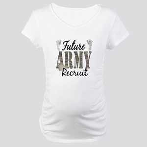 Future Army Recruit Maternity T-Shirt