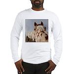Humorous Equine Long Sleeve T-Shirt