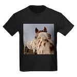 Humorous Equine Kids Dark T-Shirt