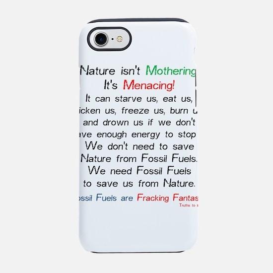 Cute Oil field iPhone 8/7 Tough Case