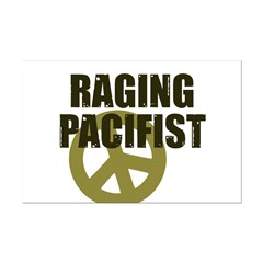 Raging Pacifist Mini Poster Print