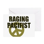 Raging Pacifist Greeting Card