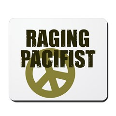 Raging Pacifist Mousepad