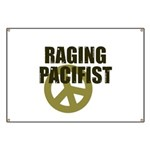 Raging Pacifist Banner