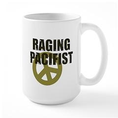 Raging Pacifist Large Mug