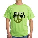 Raging Pacifist Green T-Shirt