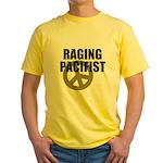 Raging Pacifist Yellow T-Shirt