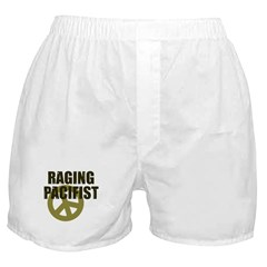 Raging Pacifist Boxer Shorts