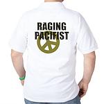 Raging Pacifist Golf Shirt
