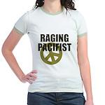 Raging Pacifist Jr. Ringer T-Shirt