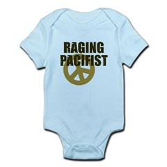 Raging Pacifist Infant Bodysuit
