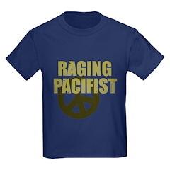 Raging Pacifist Kids Dark T-Shirt