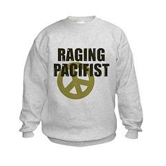Raging Pacifist Kids Sweatshirt