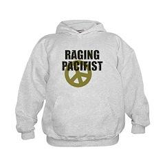 Raging Pacifist Kids Hoodie