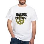 Raging Pacifist White T-Shirt