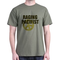 Raging Pacifist Dark T-Shirt