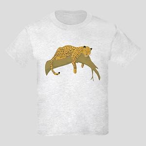 Lazy Leopard Kids Light T-Shirt