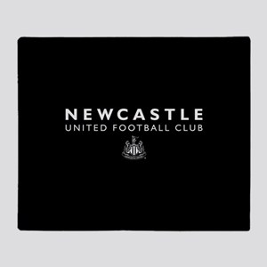 Newcastle United Football Club Throw Blanket