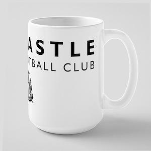Newcastle United Football 15 oz Ceramic Large Mug